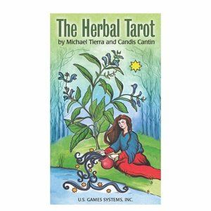 The Herbal Tarot Deck Cards  Divination
